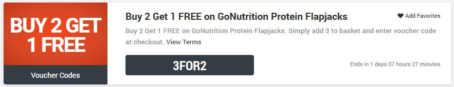 GoNutrition voucher codes