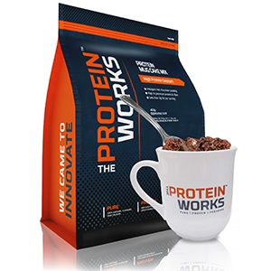 The Protein Works Red Velvet Protein Mugcake