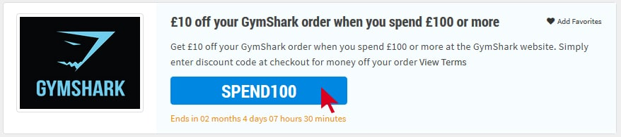 GymShark Voucher Code reveal
