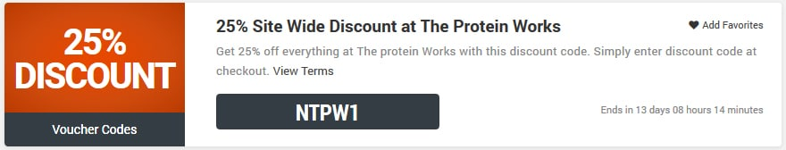 The Protein Works voucher code
